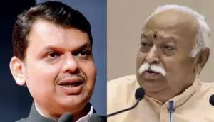 फडणवीस को RSS की सलाह- अगर शिवसेना चाहती है NCP-कांग्रेस के साथ सरकार बनाना तो बनाने दें