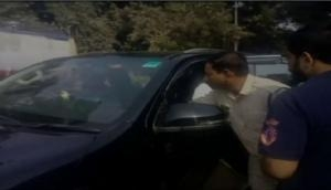 Caught on camera: Police officer touches Madhya Pradesh MLA's feet
