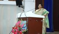 FM Nirmala Sitharaman takes crying kids in stride at official function
