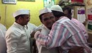 Mumbai Dabbawala members meet people in Bhendi Bazaar post Ayodhya verdict