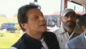 Imran Khan asks 'Hamara Sidhu Kidhar Hai' finding Navjot Singh Sidhu at Kartarpur opening; viral video