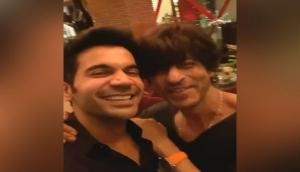 Rajkummar Rao has his fanboy moment with Shah Rukh Khan