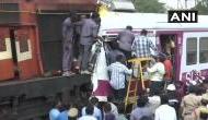 हैदराबाद में बड़ा हादसा, एक ही पटरी पर आ गई दो ट्रेंने और फिर हुई जोरदार टक्कर