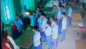 Caught on Camera: Welfare officer beaten by children of Gandhi Seva Niketan Ashram