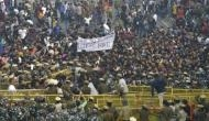 JNU students protest rocks capital; march stopped by police