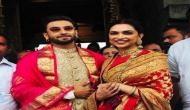 शादी की पहली सालगिरह पर वेंकटेश्वर मंदिर पहुंचे दीपिका-रणवीर, देखें शानदार तस्वीरें