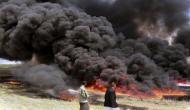 मिस्र की तेल पाइप लाइन में रिसाव के बाद लगी आग, 7 लोगों की मौत 15 घायल
