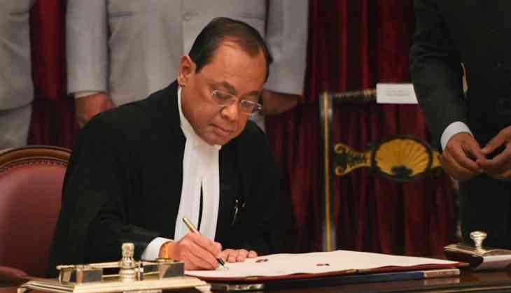 CJI Ranjan Gogoi sits in bench for last time