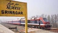 कश्मीर में कल से चालू हो सकती है रेल सेवा, पिछले तीन महीने से थी बंंद