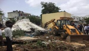 Ahemdabad: Overhead water tank collapses; none hurt