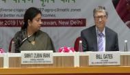 Union Minister Smriti Irani along with Bill Gates launch Bharatiya Poshan Krishi Kosh