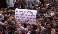 JNU students union reiterates its demands of rollback of draft manual, fee structure