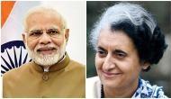 PM Modi pays tribute to Indira Gandhi on her 102nd birth anniversary