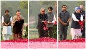 Sonia Gandhi, Manmohan Singh pay tribute to Indira Gandhi on birth anniversary