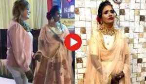 Watch: Ranu Mondal's ramp walk on Priyanka Chopra's song will shut the mouth of trollers!