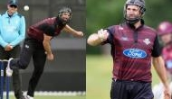 Watch: New Zealand all rounder Andrew Ellis dons helmet while bowling