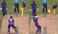 Watch: New Zealand cricketer Glenn Phillips' unorthodox shot grabs ICC's attention