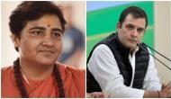 गोडसे को देशभक्त बताने पर राहुल गांधी ने साध्वी प्रज्ञा ठाकुर को कहा 'आतंकी'