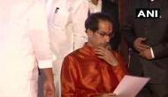Uddhav Thackeray formally takes charge as Maharashtra CM