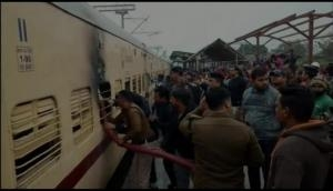Uttarakhand: Man sets train coach on fire after being denied ID card, arrested