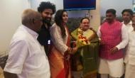 'मिशन साउथ' के तहत तमिलनाडु पहुंचे जेपी नड्डा, दिग्गज एक्ट्रेस BJP में हुईं शामिल