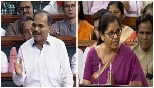 Congress leader Adhir Ranjan Chowdhury's 'misogynist' personal attack on Nirmala Sitharaman rakes up controversy in Lok Sabha