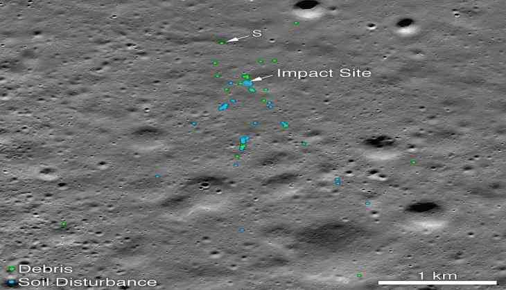 NASA finds Chandrayaan-2's Vikram Lander, releases images of impact site on moon surface