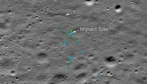 NASA को चंद्रमा की सतह पर मिला चंद्रयान-2 का मलबा, तस्वीरें की जारी