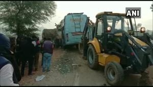 Madhya Pradesh: 9 dead, 23 injured in car-truck collision in Rewa