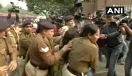 Delhi: Woman demands justice for Unnao victim, pours petrol on daughter; held