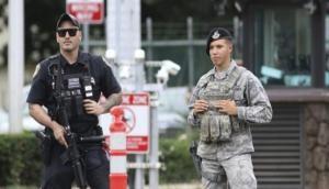 अमेरिकी नौसेना अड्डे पर सऊदी नागरिक ने की अंधाधुंध गोलीबारी, चार की मौत