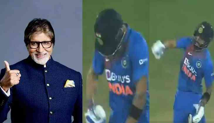 Amitabh Bachchan recreates famous dialogue from 'Amar Akbar Anthony' after Virat Kohli led India to victory over WI
