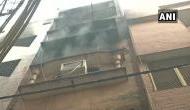 दिल्ली: जिस इमारत में एक दिन पहले जलकर 43 लोगों की मौत, फिर उसी बिल्डिंग में लगी आग