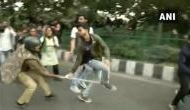 JNU Protest: Police resorts to lathicharge during demonstration over fee hike