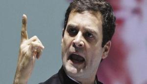 Martyrs' Day: Rahul Gandhi accuses PM Modi of sharing ideology of Nathuram Godse