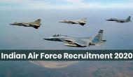 Indian Air Force में इन पदों पर निकली बंपर वैकेंसी, 12वीं पास करें अप्लाई