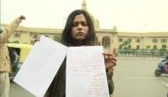 Shooter Vartika Singh writes letter in blood to Amit Shah, seeks execution of Nirbhaya convicts by woman