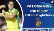 IPL 2020 Auction: IPL इतिहास में सबसे महंगे बिकने वाले गेंदबाज बने पैट कमिंस