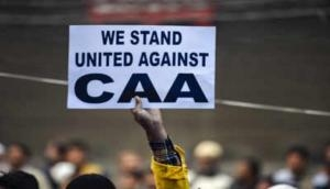 CAA protest: Joint protest held in Hyderabad against Delhi violence