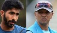 Jasprit Bumrah irks Rahul Dravid by refusing to go through fitness test