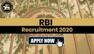 RBI Recruitment 2020: Job Alert! Over 900 vacancies out at rbi.org.in; apply now
