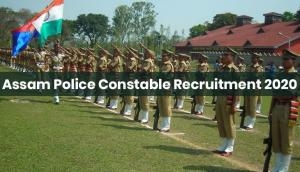 Assam Police Recruitment 2020: Apply for over 6000 vacancies released for Constable; check last date
