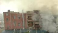 ठाणे की केमिकल फैक्टरी में भयानक आग, कई ड्रम उड़े