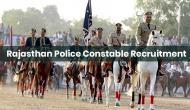 राजस्थान पुलिस में कांस्टेबल के 5000 पदों पर निकली वैकेंसी, दसवीं पास करें आवेदन