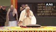 देश के पूर्व प्रधानमंत्री अटल बिहारी वाजपेयी को 95वीं जयंती पर PM मोदी ने दी श्रद्धांजलि