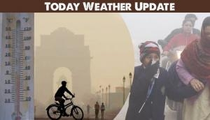 Weather Update Today: Delhiites shiver in cold as temperature slips to 4.2 degrees