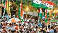 Congress turns 135: Party takes out flag march in Mumbai on foundation day