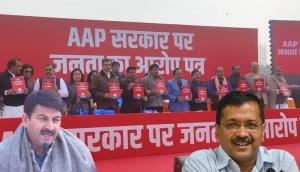 Delhi: BJP releases 'Charge sheet' against AAP govt, Kejriwal says he will take good suggestions from it