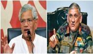 Sitaram Yechury flays Army Chief Bipin Rawat's comments on 'domestic politics'
