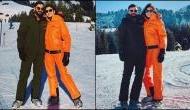 Virat Kohli, Anushka Sharma enjoys off time on snow covered mountain; see pics
